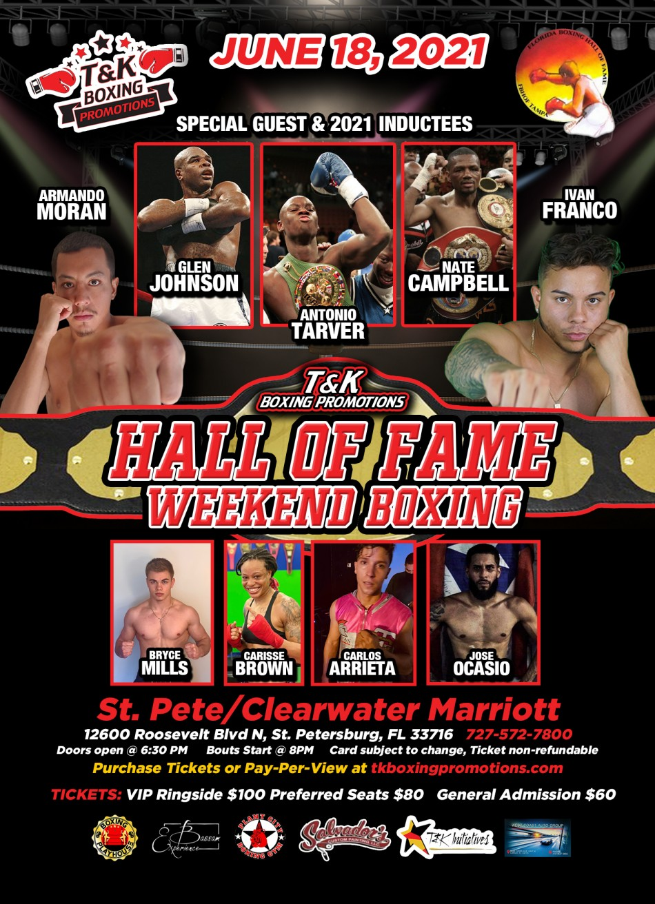 Florida Hall of Fame Boxing Spectacular