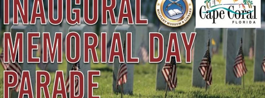 Inaugural Memorial Day Parade