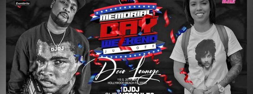 Memorial Day Weekend Jumpoff