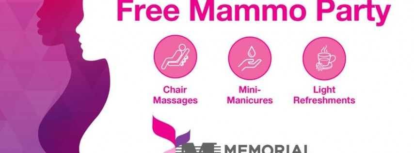 Mother's Day Mammo Party [Memorial Hospital West]
