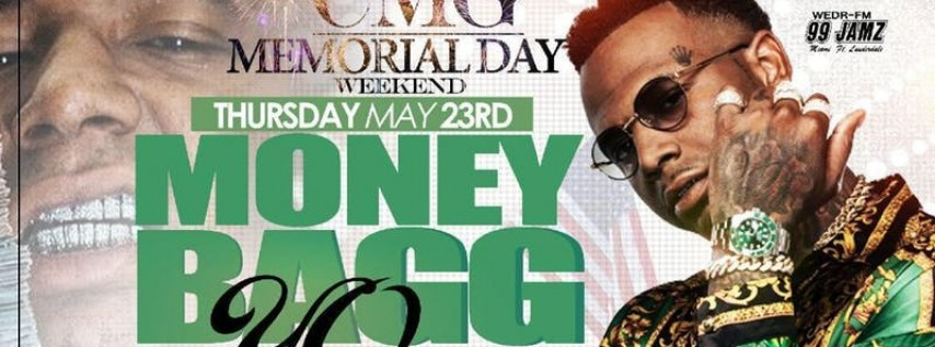 Moneybagg Yo Performing Live - Memorial Day Weekend Kick Off