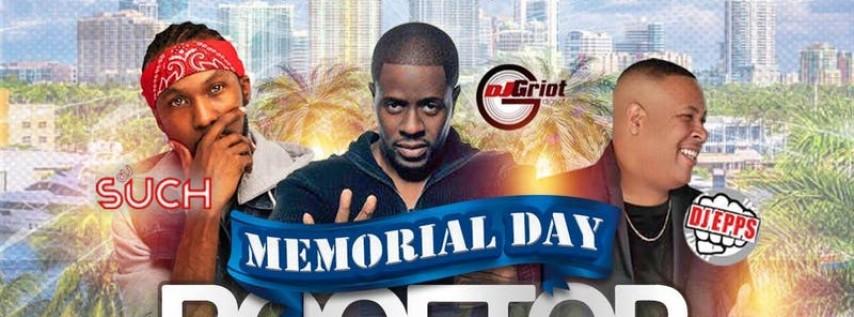 ROOFTOP DAY PARTY - MEMORIAL WEEKEND- Afrobeat - Kompa - Hip Hop - Reggae.