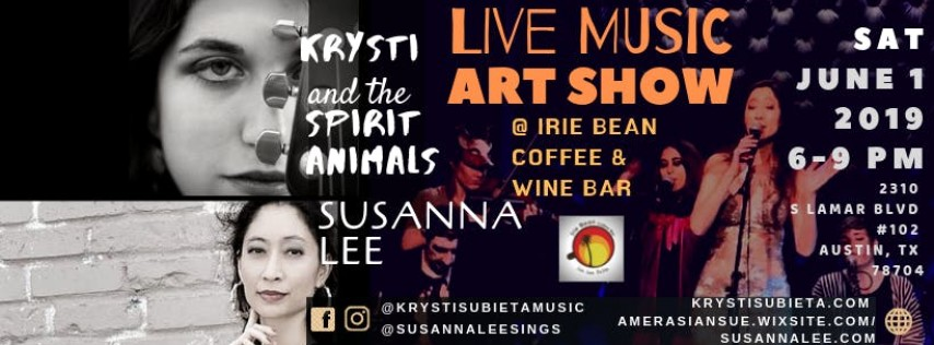 Irie Bean Live Music and Art Show