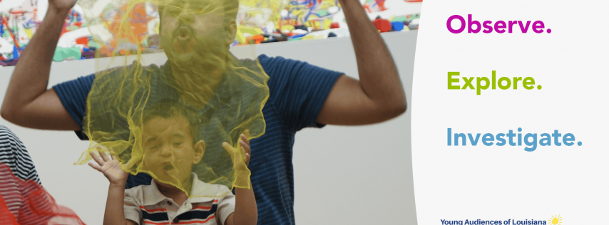 Baby Artsplay!™ at Ogden Museum of Southern Art: Pass It Along (Social Skills)
