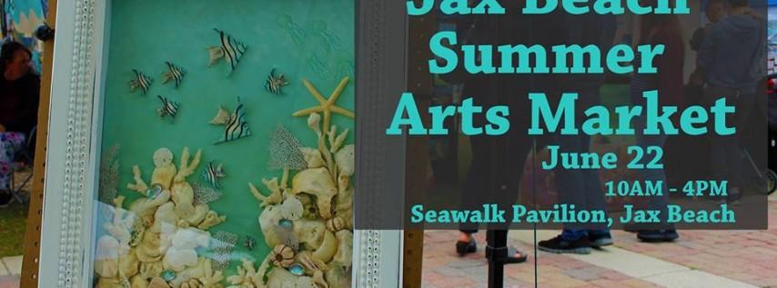 Jax Beach Summer Arts Market (June)
