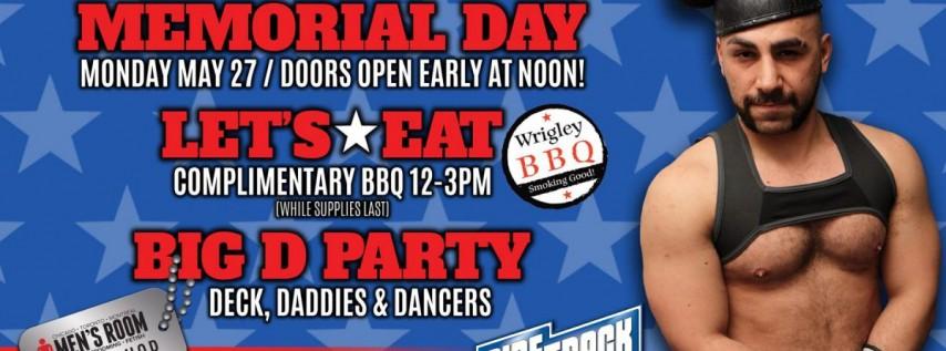 Memorial Day BBQ & Big D Party