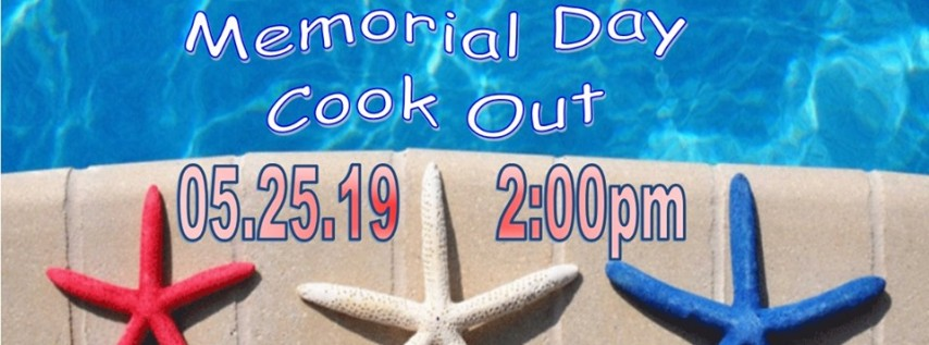 Memorial Day Cook Out