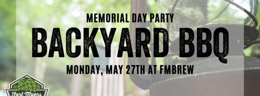 Memorial Day BBQ at FMBrew