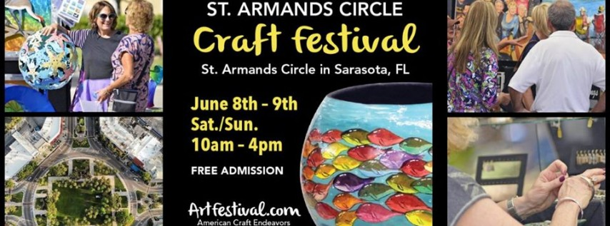 Annual St. Armands Circle Craft Festival & Summer Sidewalk Sale