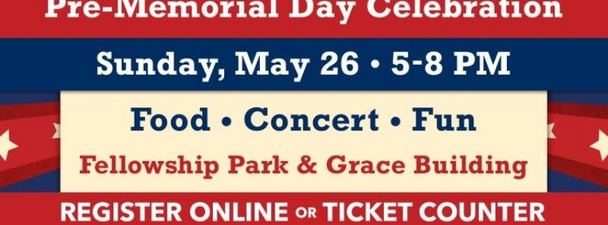 Pre-Memorial Day Concert and Picnic