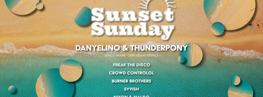 Sunset Sunday - Memorial Day Weekend - May 26th