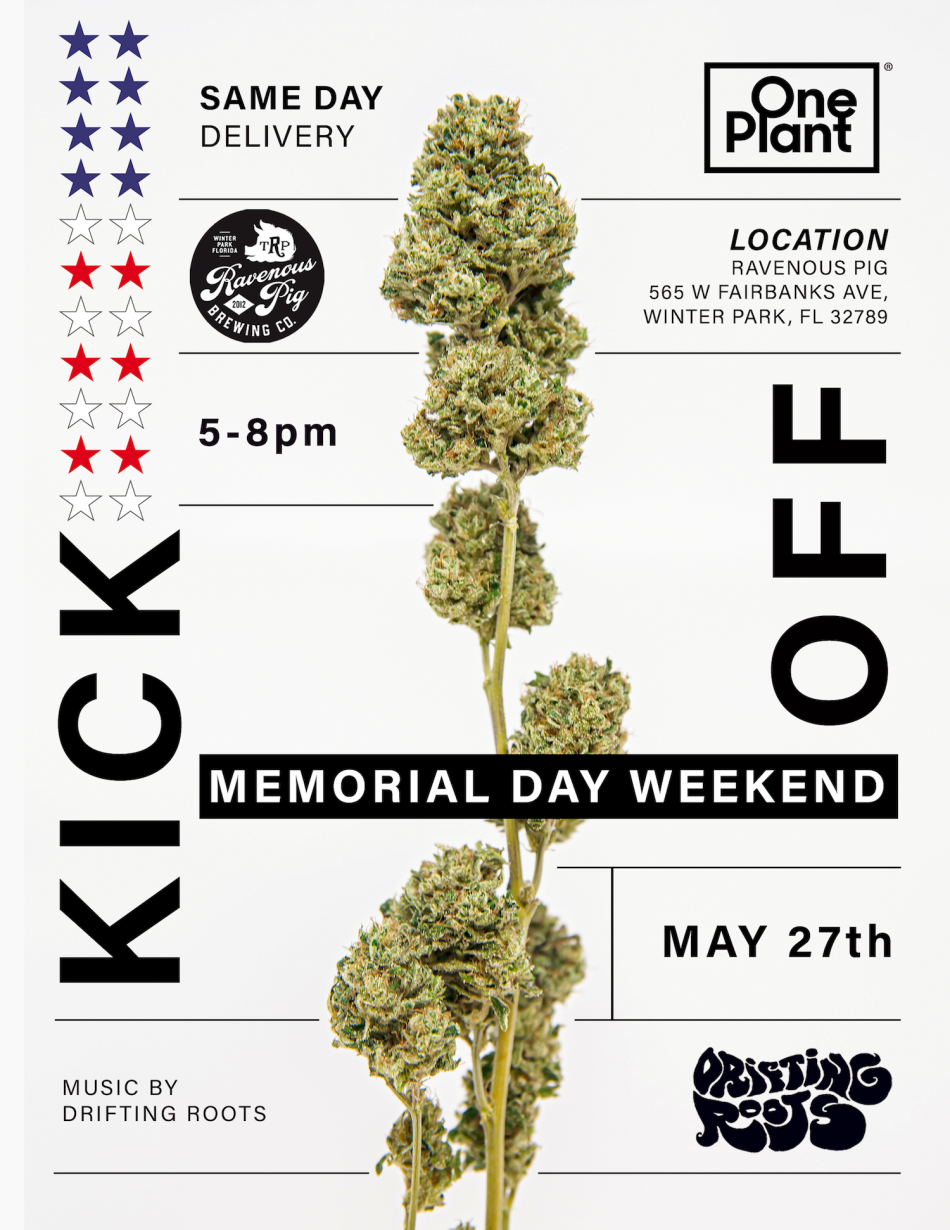 Memorial Day Weekend Kick-Off Party with One Plant