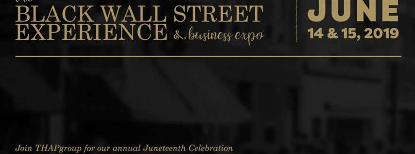 The Black Wall Street Experience & Business Expo