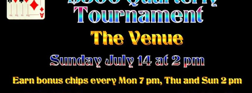 Free Poker Memorial Day at 2:00PM