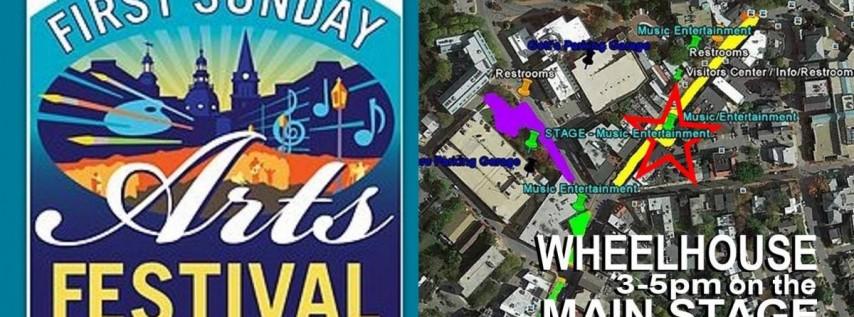 Wheelhouse Live at First Sunday Arts Festival
