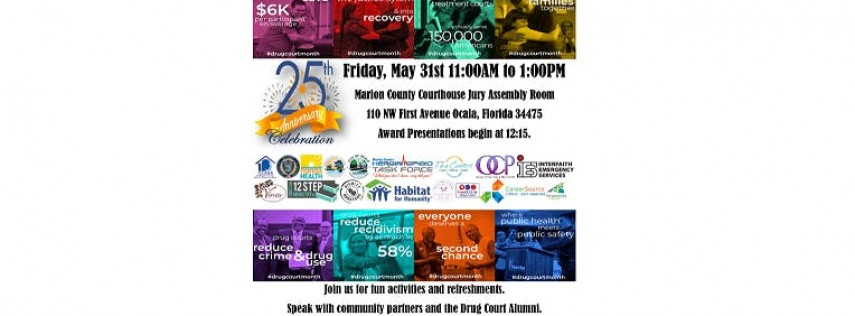 Marion County Drug Courts' 25th Anniversary Celebration