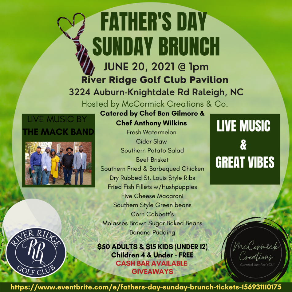 Father's Day Brunch w/ Live Music by THE MACK BAND