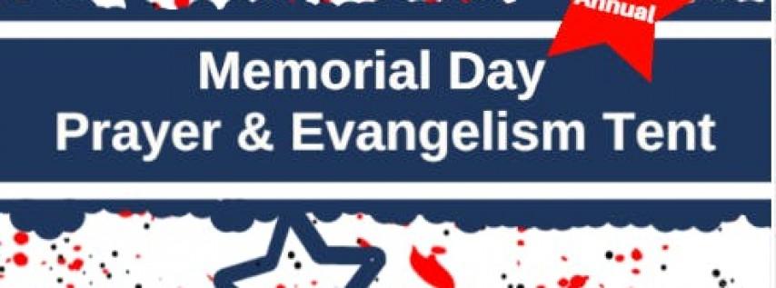 Memorial Day Prayer & Evangelism Tent