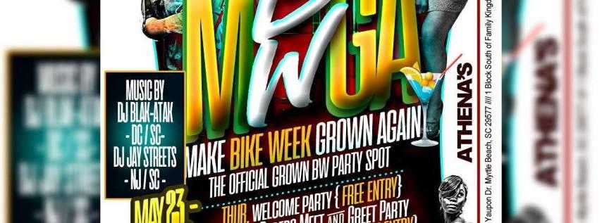 Make Bike Week Grown Again - All Grown Bike Week Party