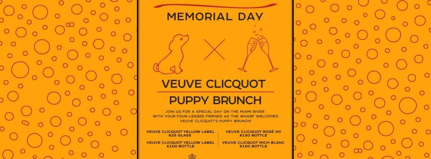 Memorial Day | Veuve Clicquot Puppy Brunch - Monday, 27, 2019