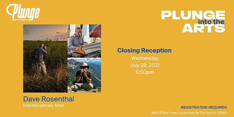 Plunge Into The Arts Closing Reception with Dave Rosenthal