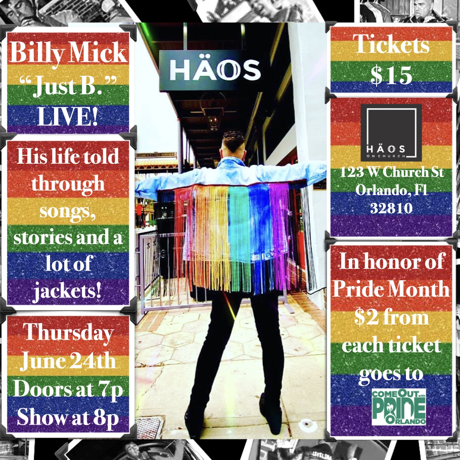 Billy Mick LIVE! - Pride Month Edition
