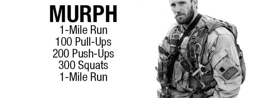 Annual Memorial Day Workout - Murph