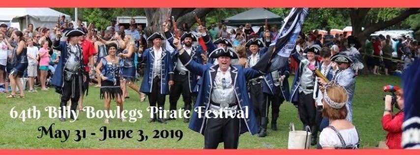64th Annual Billy Bowlegs Pirate Festival, Day 1
