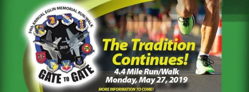 34th Annual Eglin Memorial Day Gate to Gate Run