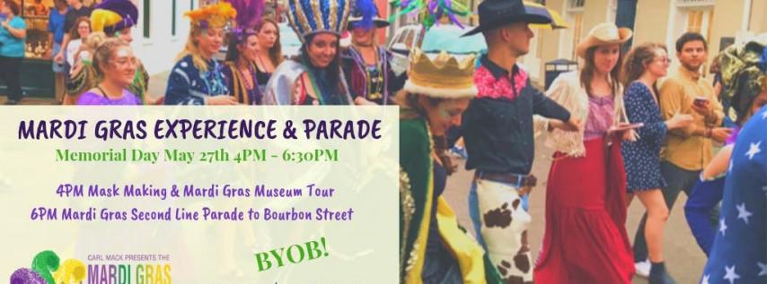 Mardi Gras Experience & Parade