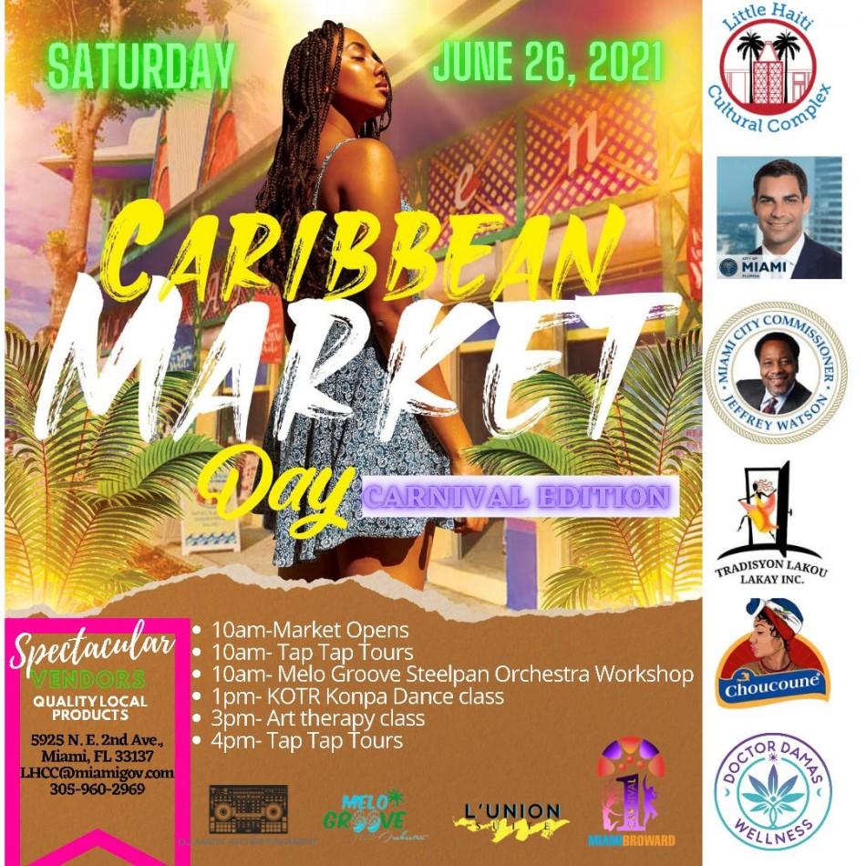 Caribbean Market Saturdays
