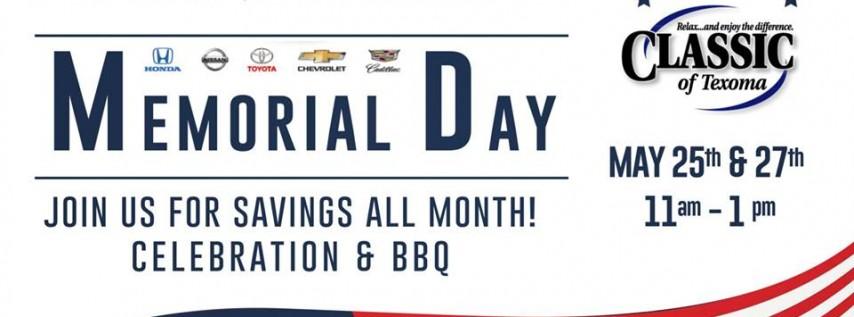 Memorial Day BBQ