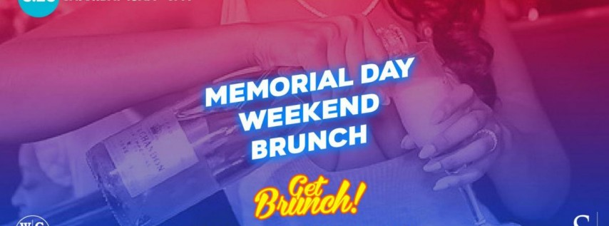 Get Brunch! : MEMORIAL DAY WEEKEND BRUNCH