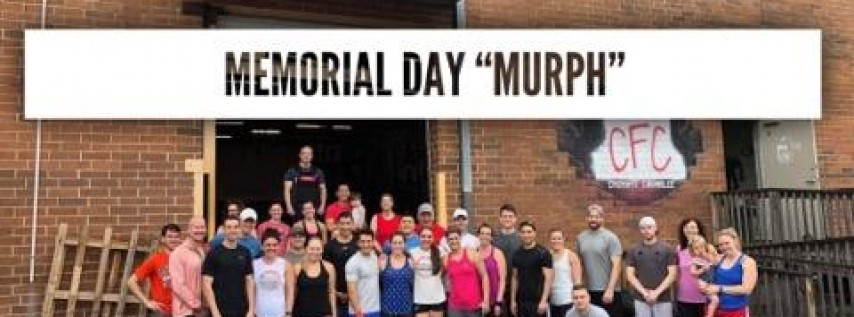 CFC Memorial Day 'Murph' 2019