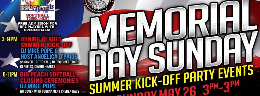 Memorial Day Sunday Events at Heretic ATL