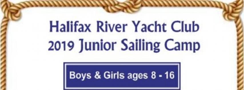 2019 Junior Sailing Camp