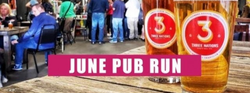 June Pub Run | 3 Nations Brewing