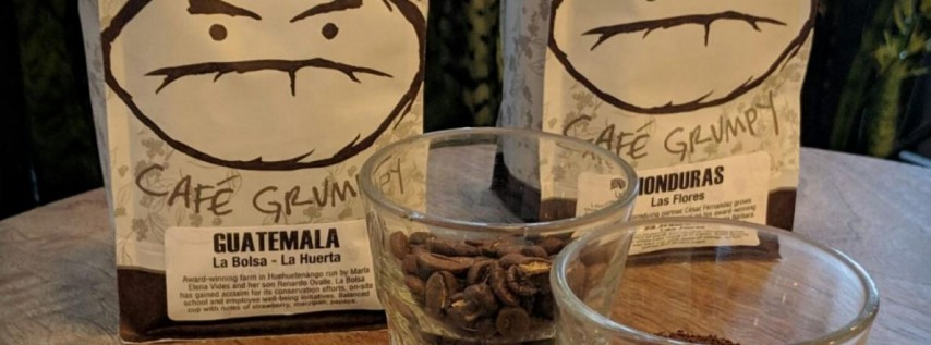Coffee Cuppings at Cafe Grumpy
