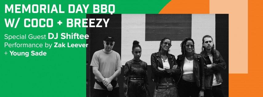 Memorial Day BBQ w/Coco + Breezy