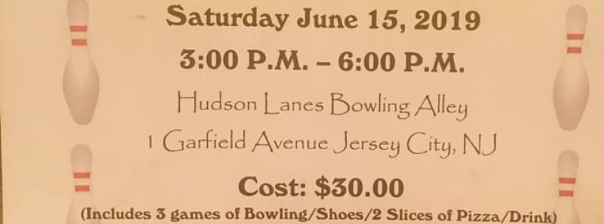 Pre-Father's Day Scholarship Bowling Fundraiser