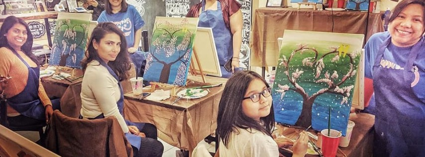 Paint and Bubble Tea Father's Day Event!