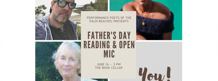 Father's Day Poetry Reading & Open Mic