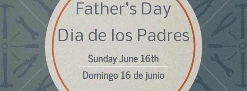 Father's Day Service / Dia de los Padres Servicio Especial
