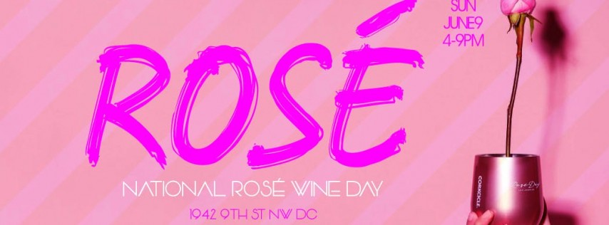 National Rosé Wine Day