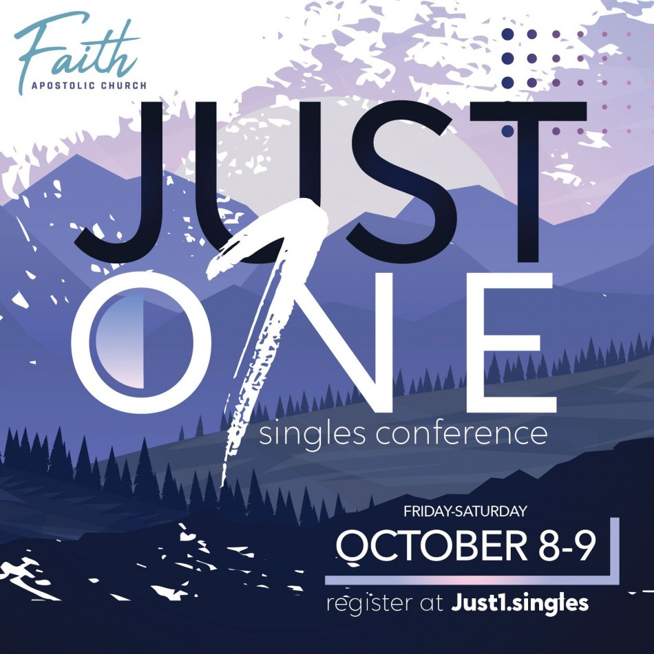 Just 1 Singles Conference