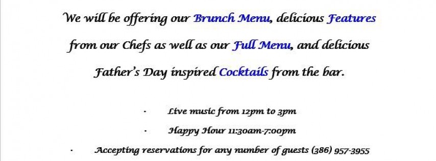 Join Us for Father's Day