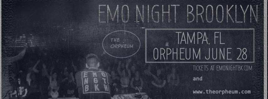 Emo Night Brooklyn @ The Orpheum