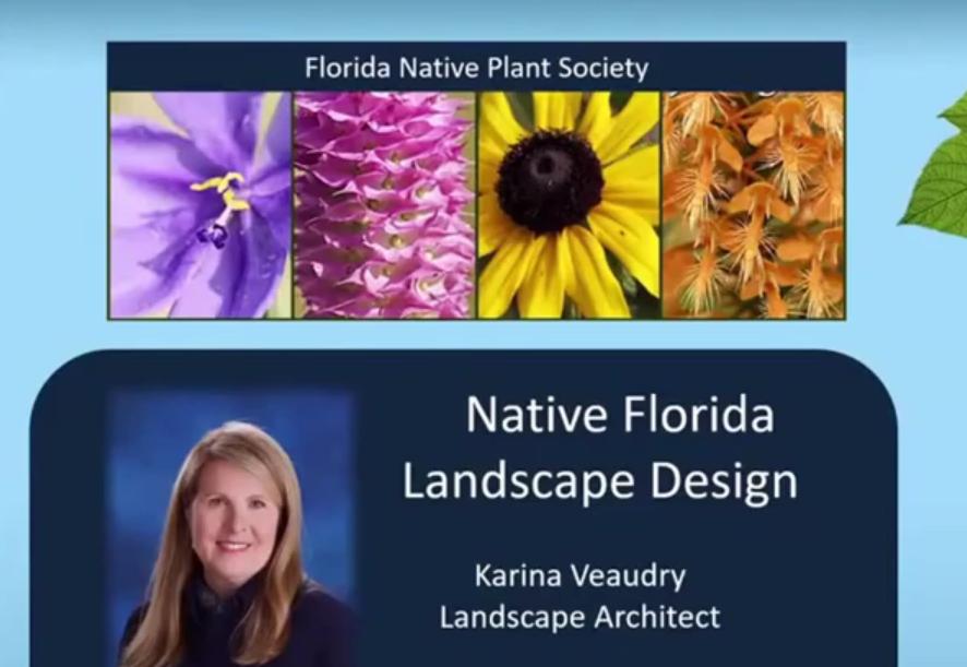 Intro to Florida's Native Plants & Landscape Design