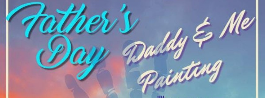 Daddy & Me Painting