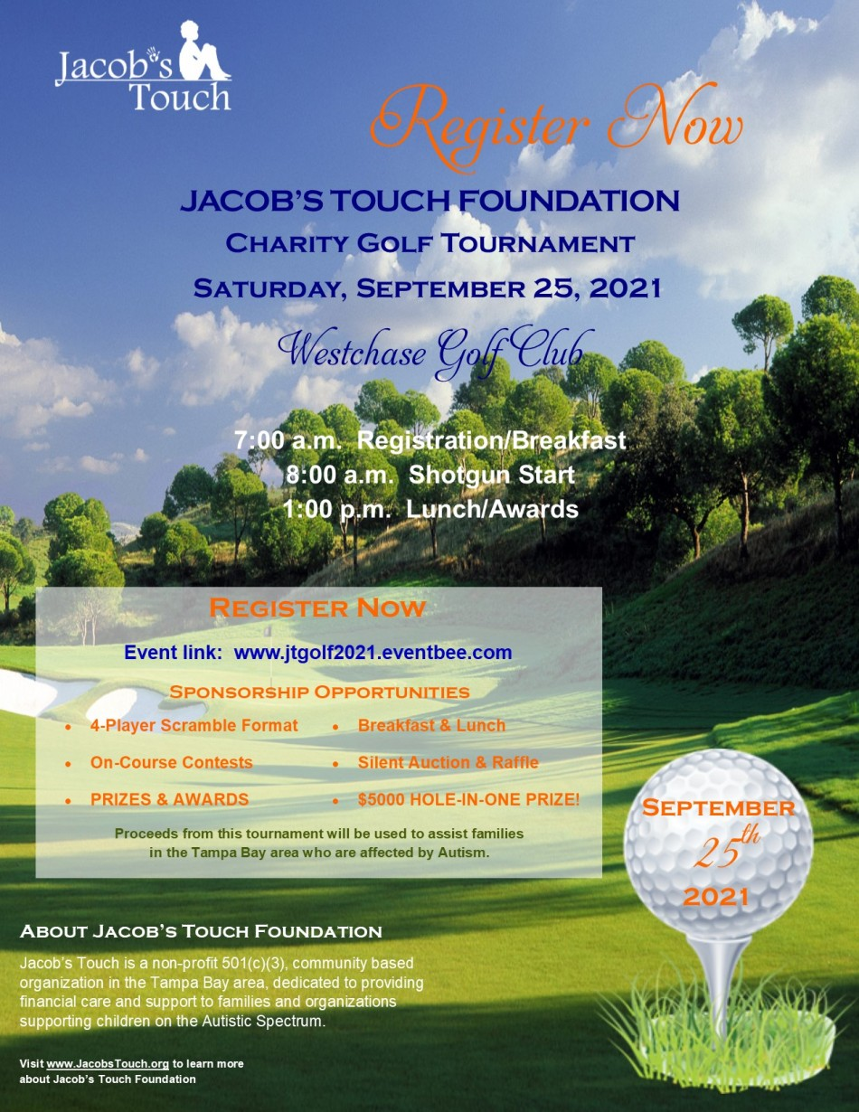 JACOB'S TOUCH FOUNDATION CHARITY GOLF SCRAMBLE